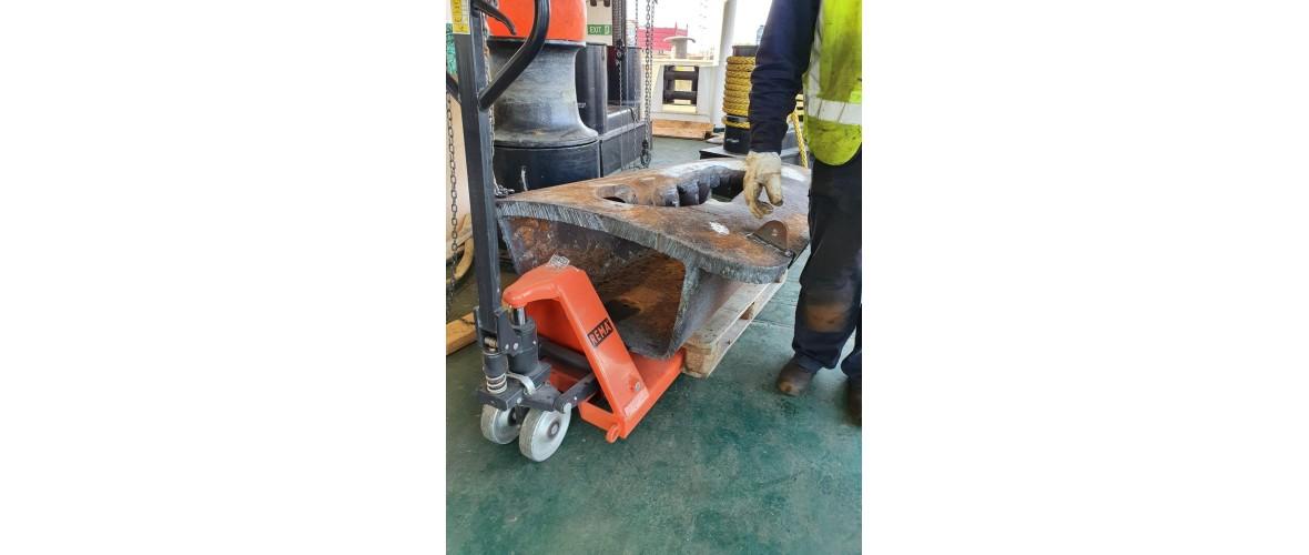 Spudleg and Jacking repairs