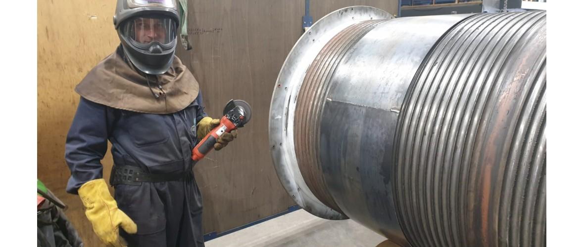 Reparatie liertrommel-3-projecten-m